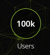 Less than two years in, and @hackthebox_eu has just broken 100k active users! Holy moly what a ride! Thank you everyone for your support - looking forward to the future! 🥰