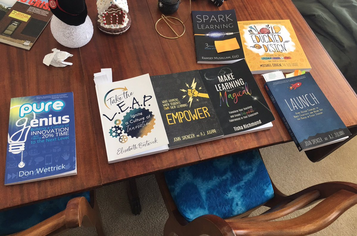 My go to books right now #launchbook @spencerideas #EducatedByDesign #mlmagical #leapeffect #tlap