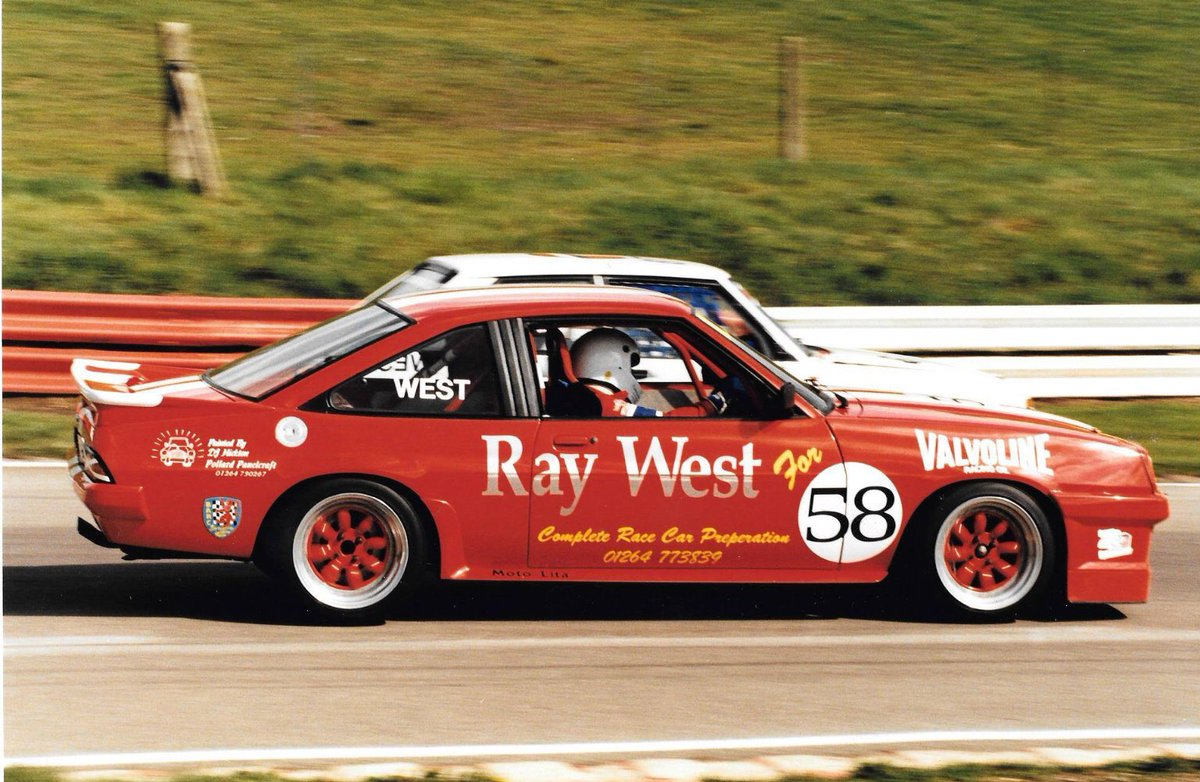 Thundersaloons On Twitter From The Archives Ray West Opel Manta 400 The Car Was Successful In Modified Production Saloon Championship In The 90s The Manta Is Now Being Rebuilt For