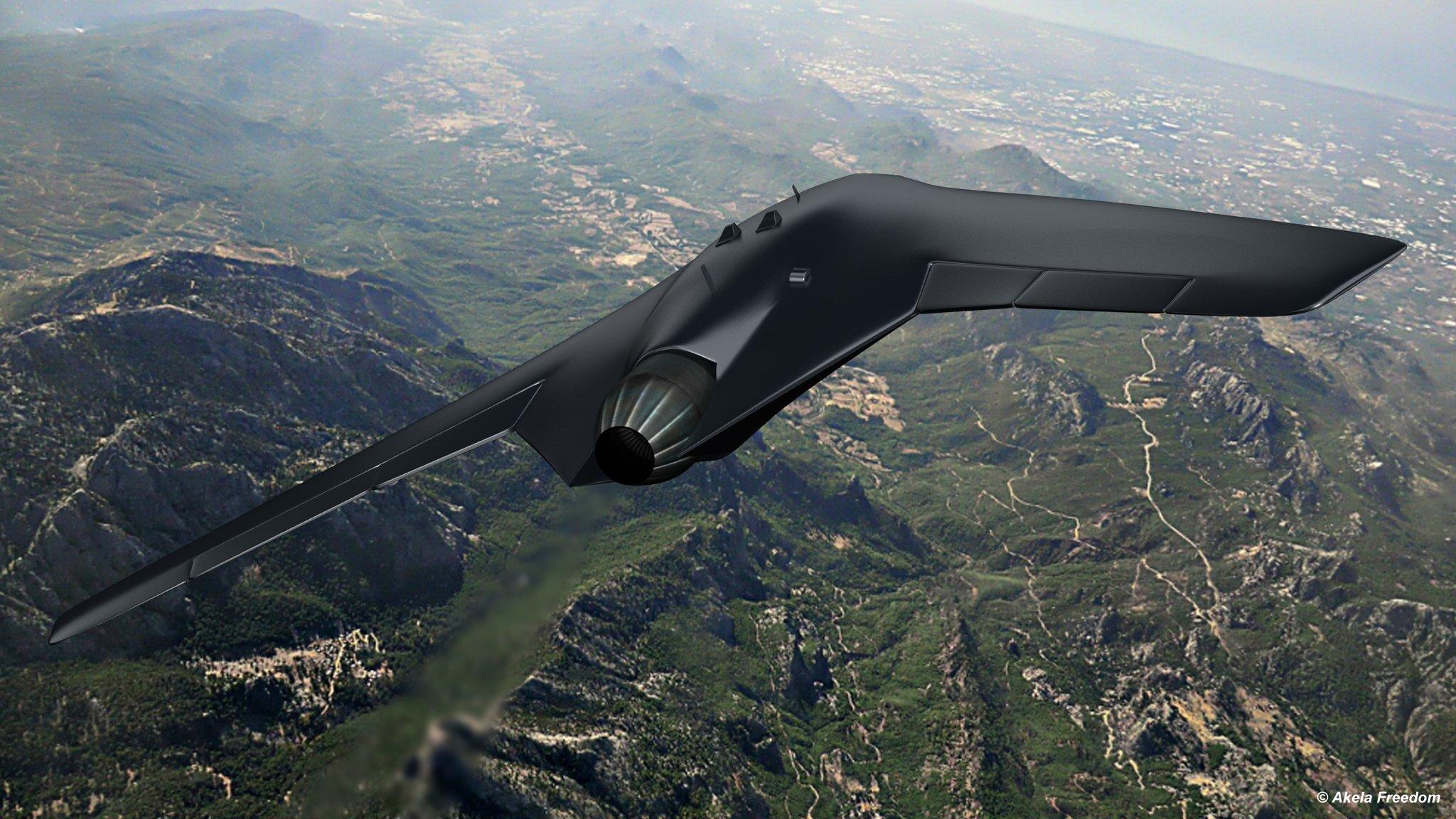Okhotnik-B drone