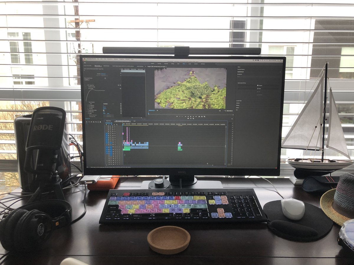 """BenQ sent me a 27"""" Designer Monitor PD2700U for video editing. https://bhpho.to/2CLzjZm  I'm loving it! UHD 4K, matte, flicker free, darkroom mode, and low blue light eye-care technology! Review coming in the next couple weeks."""