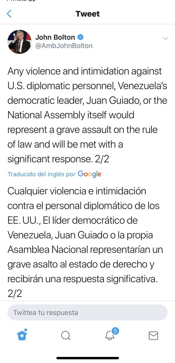 Maduro: Si algo me pasa, ¡retomen el poder y hagan una revolución más radical! - Página 4 Dx8hR0cWwAANKX-