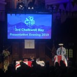 Image for the Tweet beginning: Wonderful presentation evening.  200
