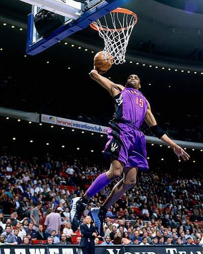 Happy Belated Birthday to NBA Superstar Vince Carter born on January 26,1977 in Daytona Beach Florida.