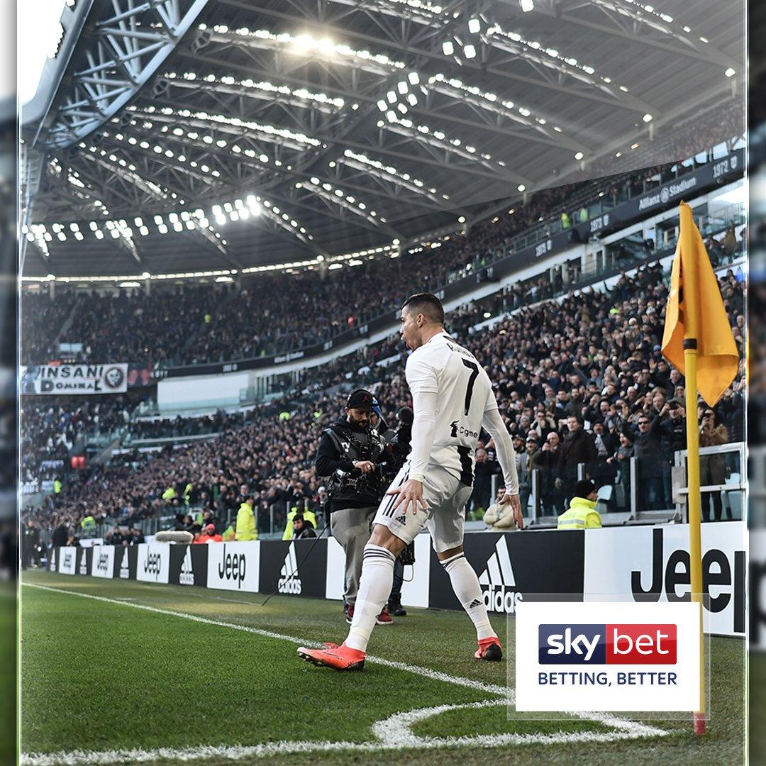 👏 MATCH WINNER. #LazioJuve #Juventus #CR7