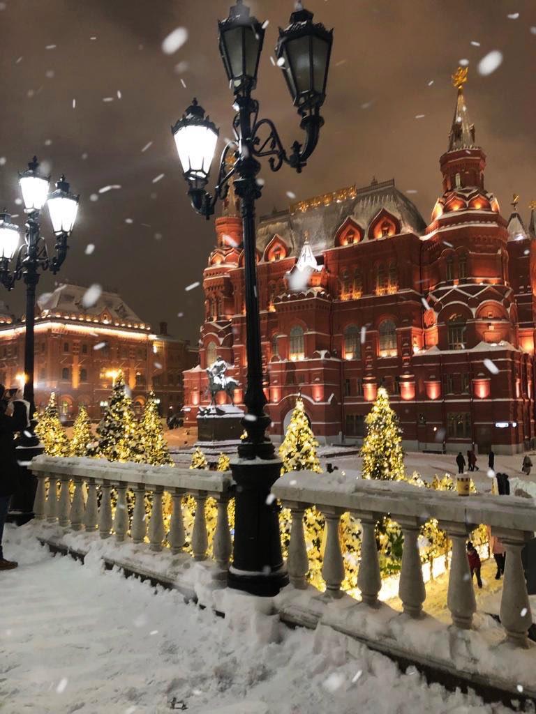 выступал фотографии московская зима сами сможете