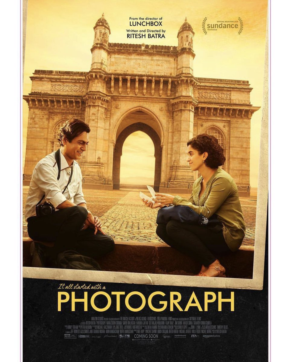 Check out the new poster of #Photograph featuring @Nawazuddin_S and @sanyamalhotra07.