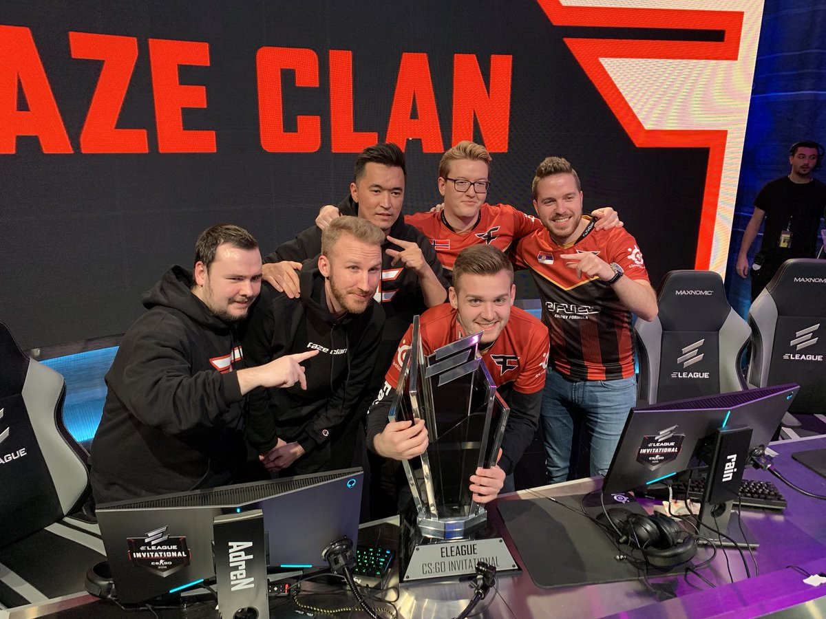 Another 🏆 for the cabinet  #FaZeUp