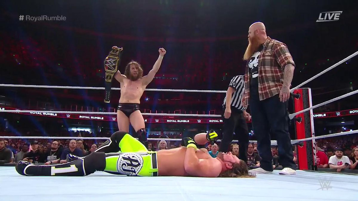 Erick Rowan Returns From Injury During WWE Title Match At The Royal Rumble