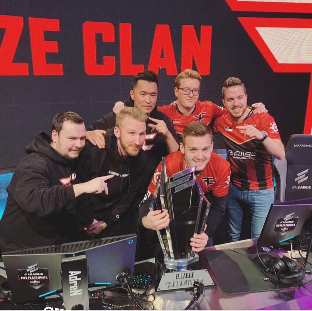 Proud of the mentality we have shown at this event, time to prepare for the major. Champions 🏆