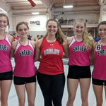 Image for the Tweet beginning: Shelby Indoor track compete at