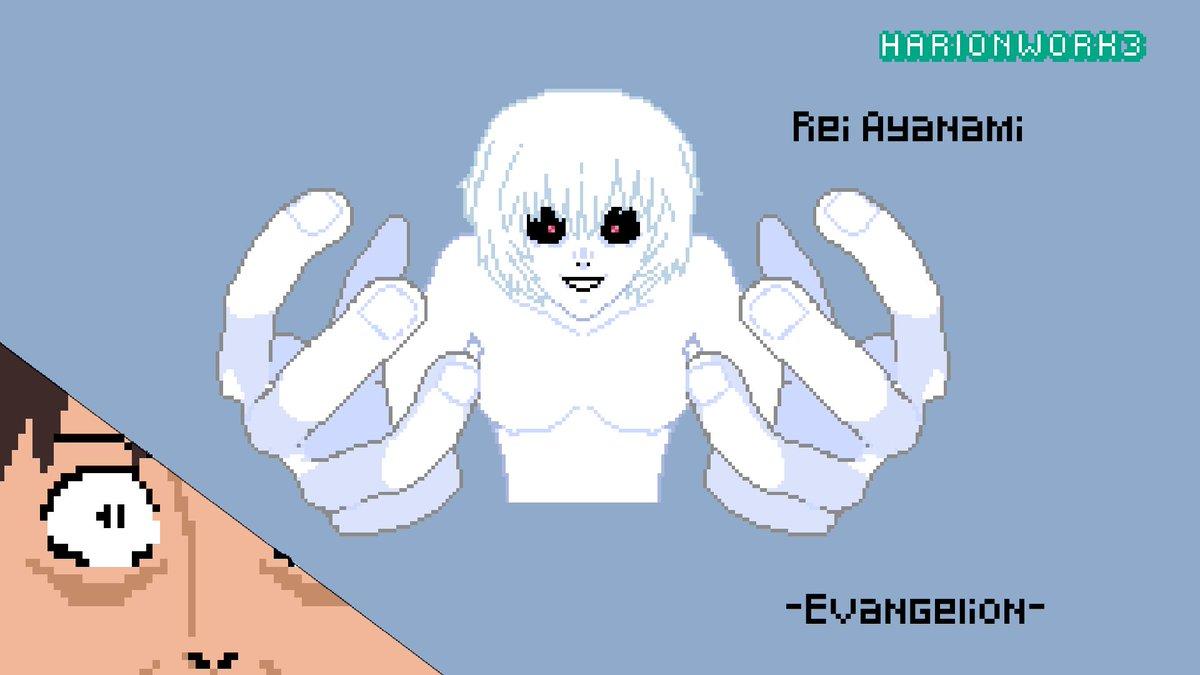 Harionwork3 On Twitter Rei Ayanami The End Of Evangelion Not My Proudest Pixel Art Evangelion Neongenesisevangelion Theendofevangelion Rei Ayanami Reiayanami Shinji Pixelart Pixel Art Anime 新世紀エヴァンゲリオン Manga Angel Mechas