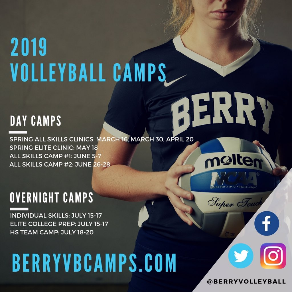 Berry College Volleyball Berryvolleyball Twitter