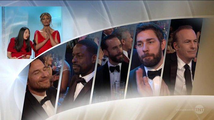 Screen Actors Guild Awards - Page 10 Dx9uQM2V4AAvHmO