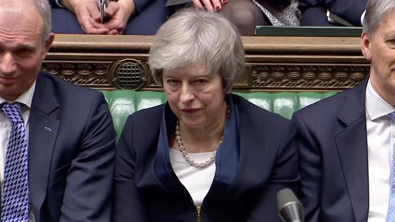 Prime Minister Theresa May suffers crushing defeat as UK parliament rejects Brexit deal https://t.co/6OWrGPNdHn