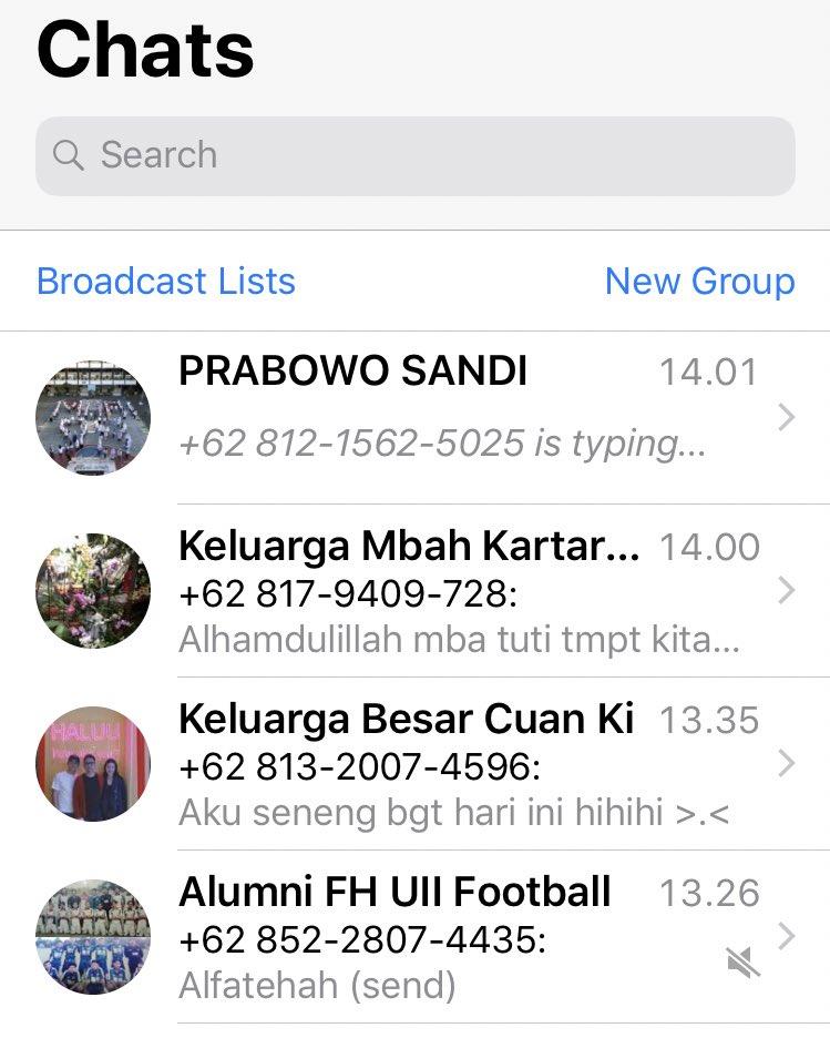 Baru saja mengubah nama Grup Alumni SMA... sesuai visi politik Pak Amien Rais.. tuh paling atas 🙏🏽