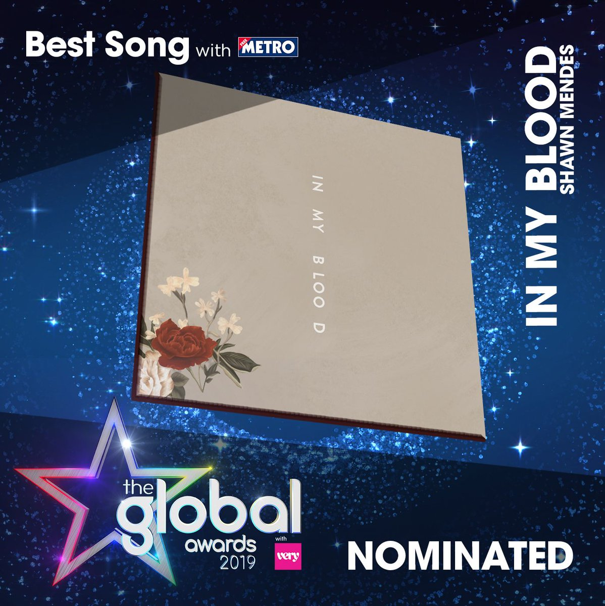 Is there really a better song than In My Blood? No you say? Well then get voting for @ShawnMendes at #TheGlobalAwards!  🌹https://t.co/sskYB41ct9🌹  #ShawnMendes #InMyBlood