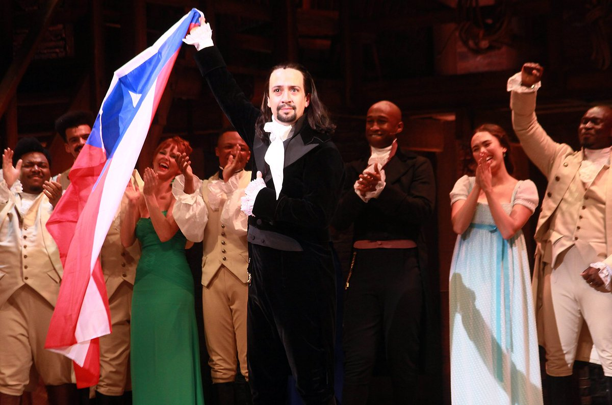 Jimmy Fallon and Lin-Manuel Miranda performed 'Hamilton' songs with locals in Puerto Rico on @FallonTonight https://t.co/xr3zoUp2nU