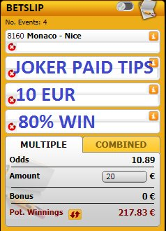 http://jokerpaidtips.blogspot.com                                We have 4 games with 10 ODD for #TODAY 16/01/2019, all the games are for just 10 EUR  #inplay #YourOdds #RequestABet #bets #tips #betting #InPlaywithRay #PL #EFL #BestAccaAround #PriceItUp #livebet #UCL #UEL #picks #Matchday