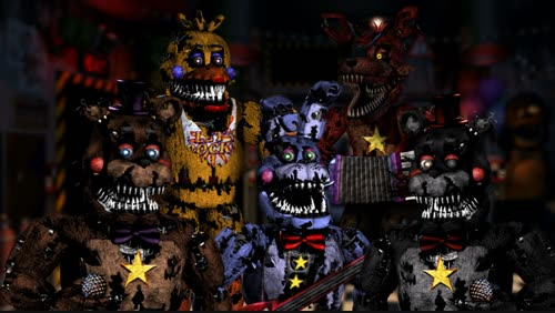 Fnaf Fan Made Nightmare Animatronics