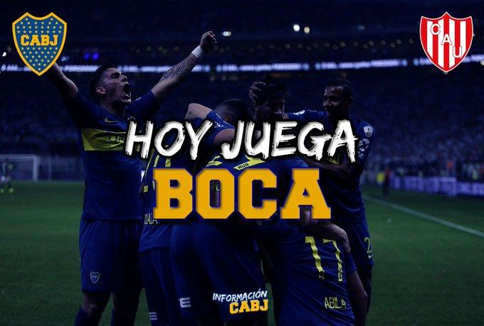 💙💛💙 ¡HOY JUEGA BOCA! 💙💛💙 🏆 Amistoso 🆚 Unión 🕕 hs 🏟 Estadio José María Minella 👤 Mauro Vigliano 📺 Fox Sports Premium Foto