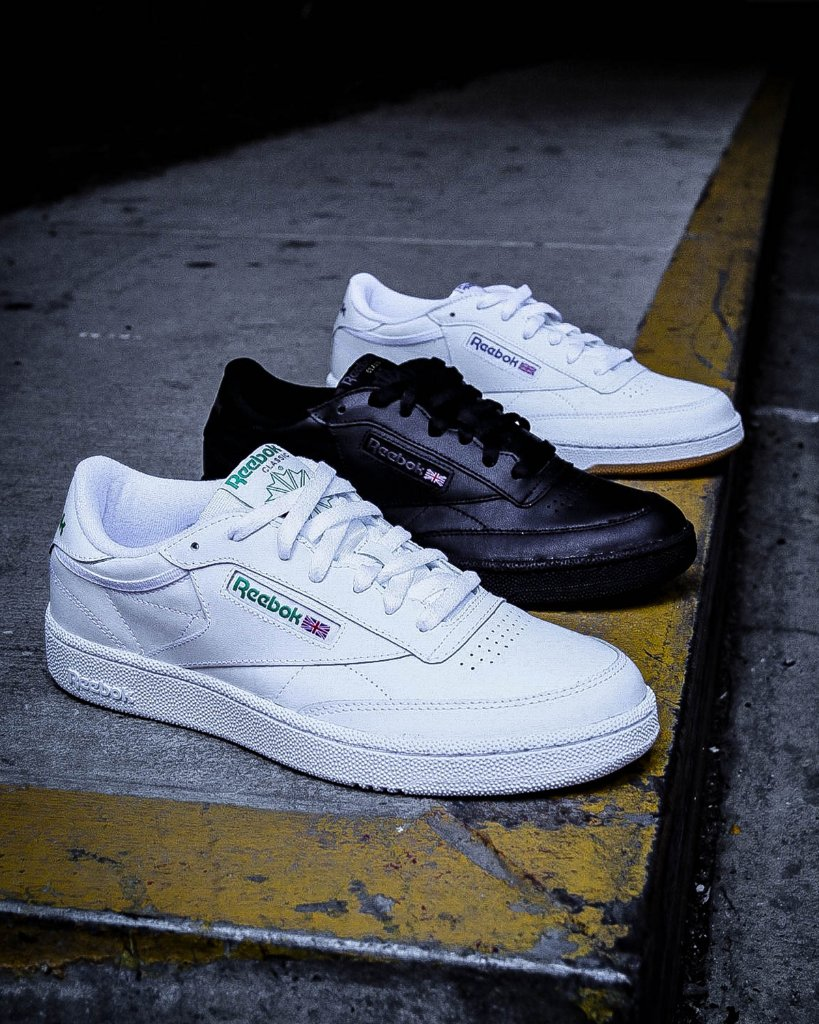 footlocker 2 months. join the club reebok club c 85 available in multiple  colorways in store and online 8fe9ede70