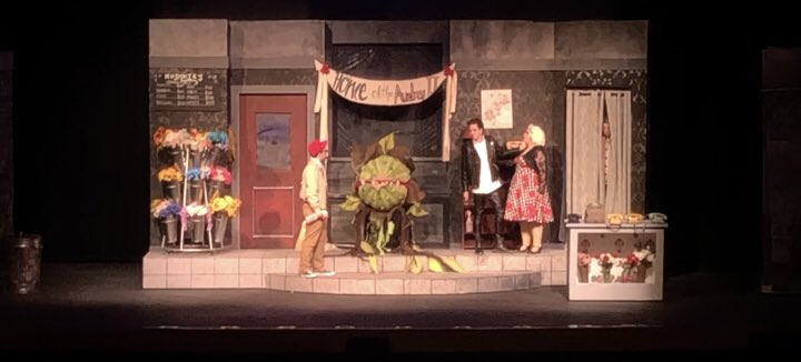 Can you spot Mushnik? Come see him THIS Friday and Saturday! #WEHSLITTLESHOP Get tickets at:  http:// wehstheatre.weebly.com  &nbsp;  <br>http://pic.twitter.com/lw5ylQEVXe