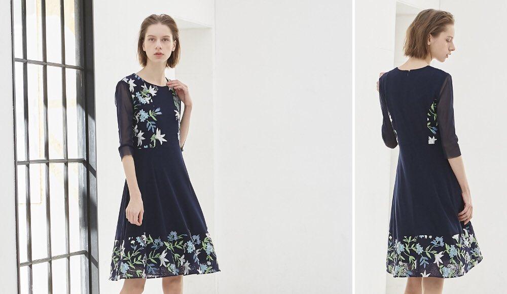 【New Arrival】 2019年春の新作[VOL.02]公開‼︎ 春の軽やかなアイテムに華やかさを添えるリリーフラワー https://www.viviennetam.jp/pickup #VIVIENNETAM #VIVIENNETAMJP #春の新作 #color #flower #dress #blouse #lily