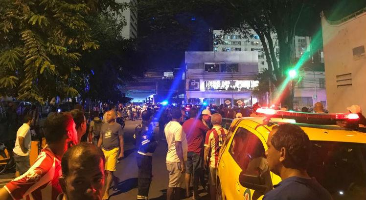 Mais confusão entre torcedores e polícia após Náutico x Fortaleza: