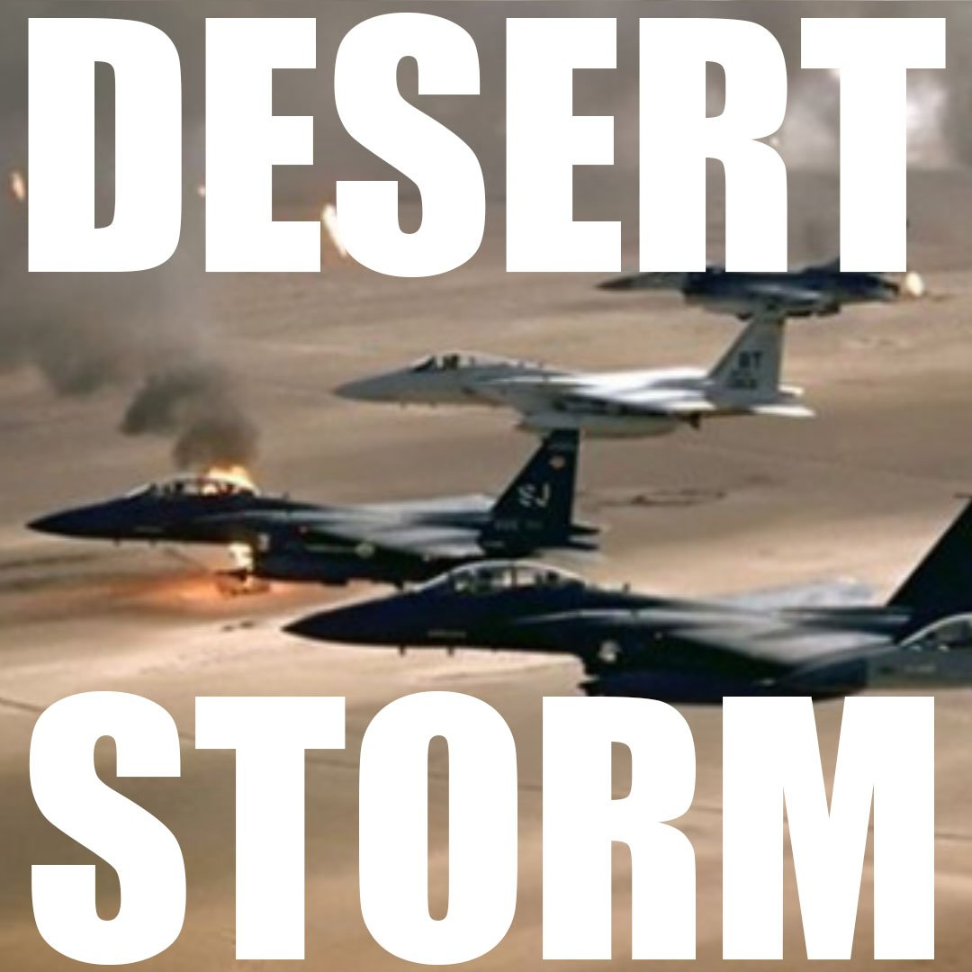 Today, 28 years ago, U.S. forces reminded the world of their strength during Operation Desert Storm.