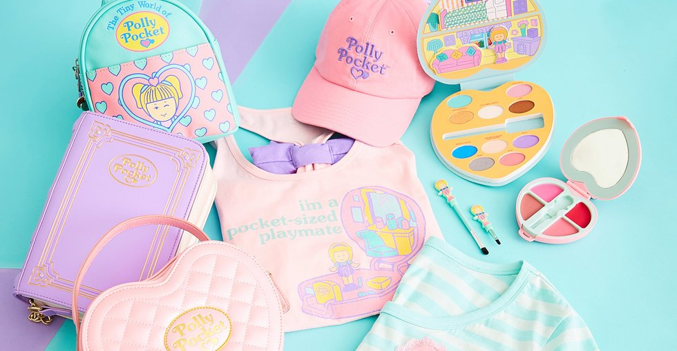 '90s babies, rejoice: Hot Topic is dropping a Polly Pocket-inspired collection tomorrow for her 30th anniversary https://t.co/9n2ZwwItsV