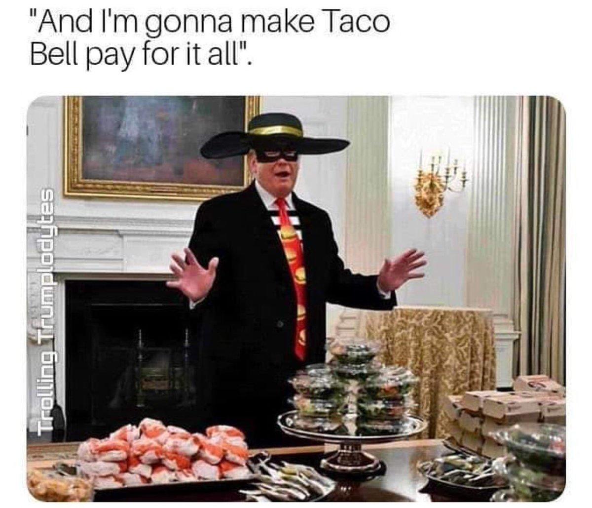 #WhiteHouseDinner #Clemson #TacoBell #BurgerKing #Pizza #Mcdonalds #FootBall #Champions #GovernmentShutDown #CheapPop #CheapPops #Memes
