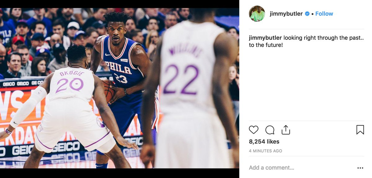 Jimmy feeling good after the W