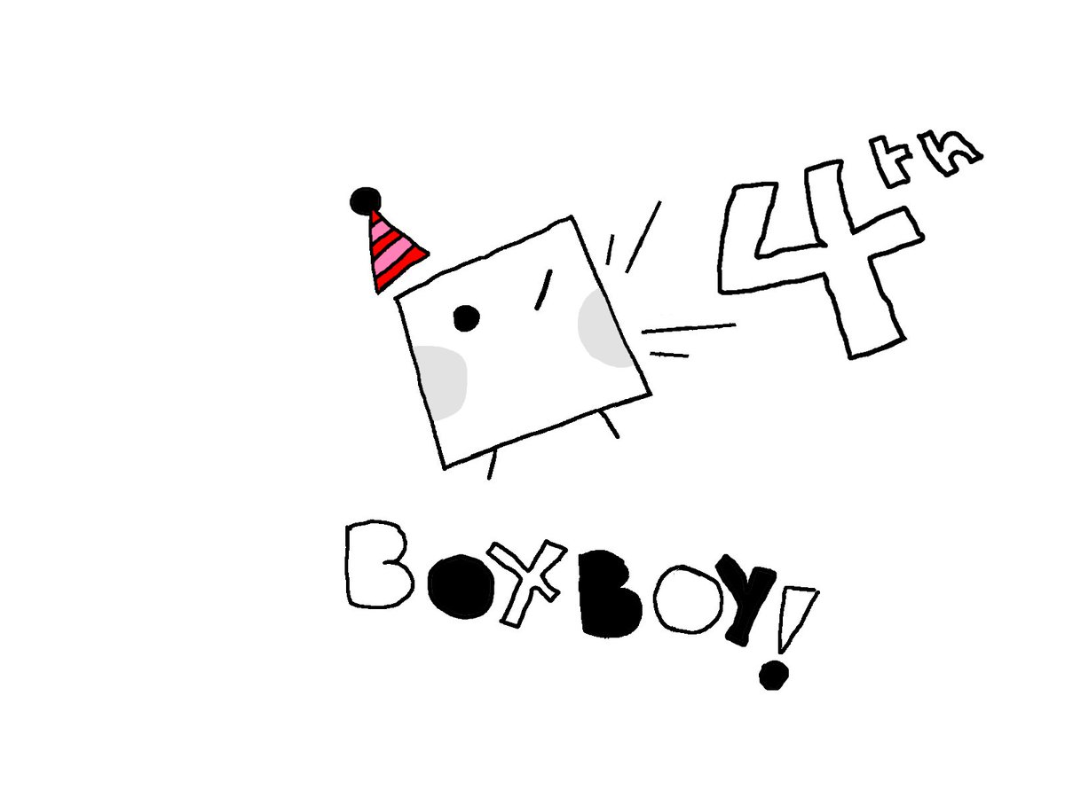 I'M A LITTLE LATE TO THE PARTY BUT ITS OKAY!! HAPPY BIRTHDAY, QBBY!!!!!!!!!!!!!!!!! #BOXBOY