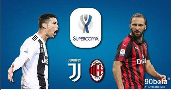#SupercoppaItaliana #JuventusMilan #Juventus #ACMilan #90bola Juventus VS AC Milan, Laga di luar Italia Waktu Pertandingan:17/1/2019 00:30 Kamis http://www.90bola.cc/berita/Juventus-VS-aC-Milan-Laga-di-luar-italia-448134.html…