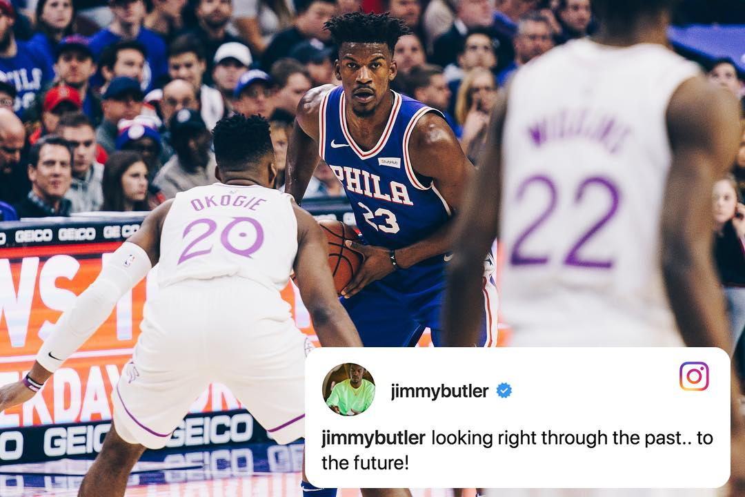 .@JimmyButler is moving on 👀