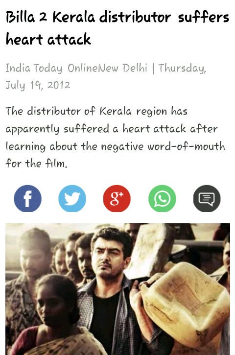 Well Said Bro!!  Then What&#39;s All These !! Evn 2.8cr Rights  Can&#39;t Recovered By Ajith In Kerala !! Sarkar Day 1 Kerala Share Is Above 3cr!!  Pic 1&amp;3 About Billa2 Kerala  Pic2 : Tomichan Suffered Huge Loss Due to vivegam (  Tomichan itself Said that) <br>http://pic.twitter.com/3oNHnd3a45