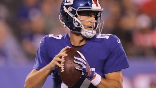 Giants backup QB pleads to charges from traffic offence: https://t.co/mUET1r13M1