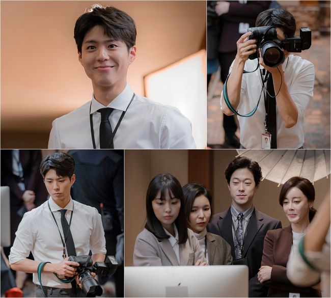 Oh wow Director of Photography Kim Jin Hyuk?  For some reason I can imagine if he's working behind the screen in future omo such feels  Am being emo now 🤧🤧🤧 Wishing you for more projects #bogummy! 😁  #박보검 #ParkBoGum #SongHyeKyo #tvN남자친구 #Boyfriend #Encounter #남자친구