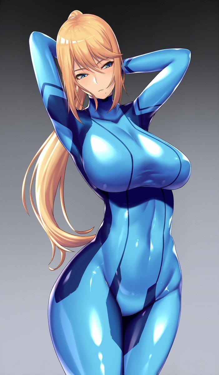 Zero suit samus hentai