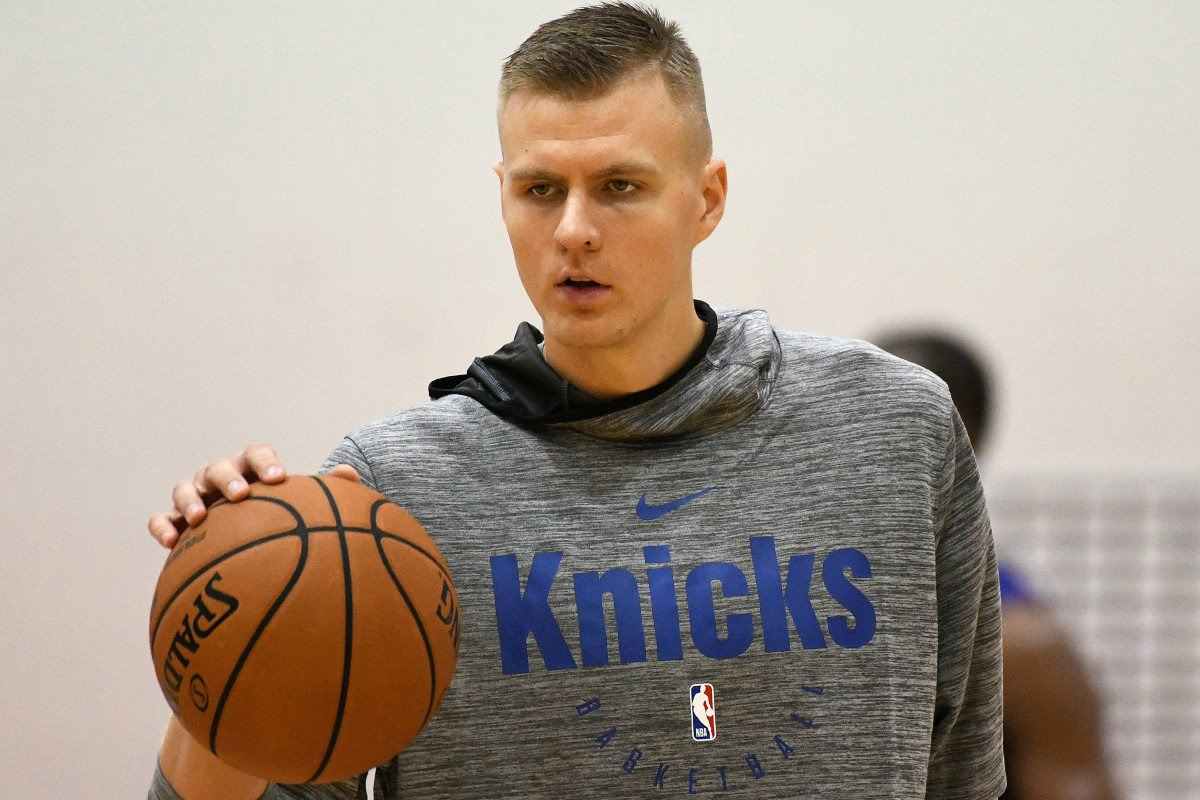 Kristaps Porzingis not making London trip an encouraging sign https://t.co/IEq3Prxf0b