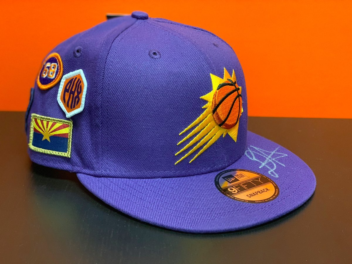 #NationalHatDay --  win an autographed @DeandreAyton draft cap! @DwilightF66 @JohnnieBowers47