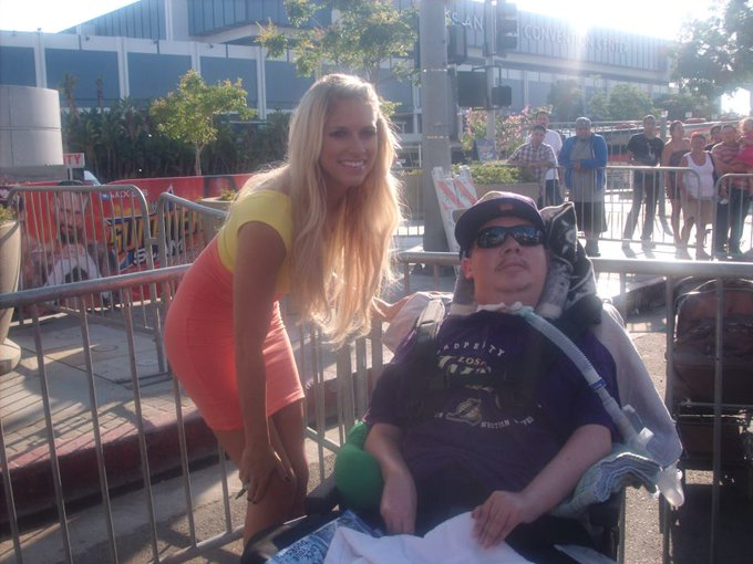 Happy Birthday Kelly Kelly   It was amazing the day I met you