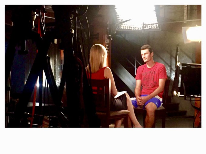 He sure courts controversy. Here's a link to my @sundaynighton7 interview with Bernard Tomic in Miami July 2017 straight after his Wimbledon outburst. He said he didn't care if he was loved or hated, he just wanted to be understood. Over to you ... Photo