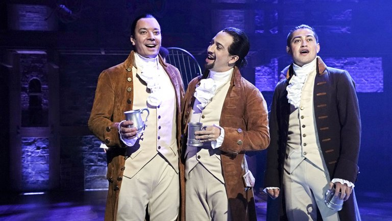.@JimmyFallon, @Lin_Manuel Miranda perform #Hamilton songs, bond with locals in Puerto Rico https://t.co/WP0MrY6gJD
