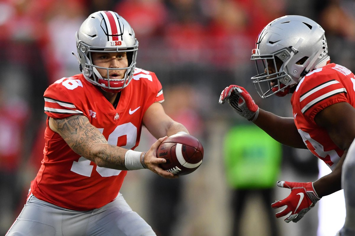 Ohio State backup QB Tate Martell expected to announce transfer to University of Miami, per @VinceSapienza
