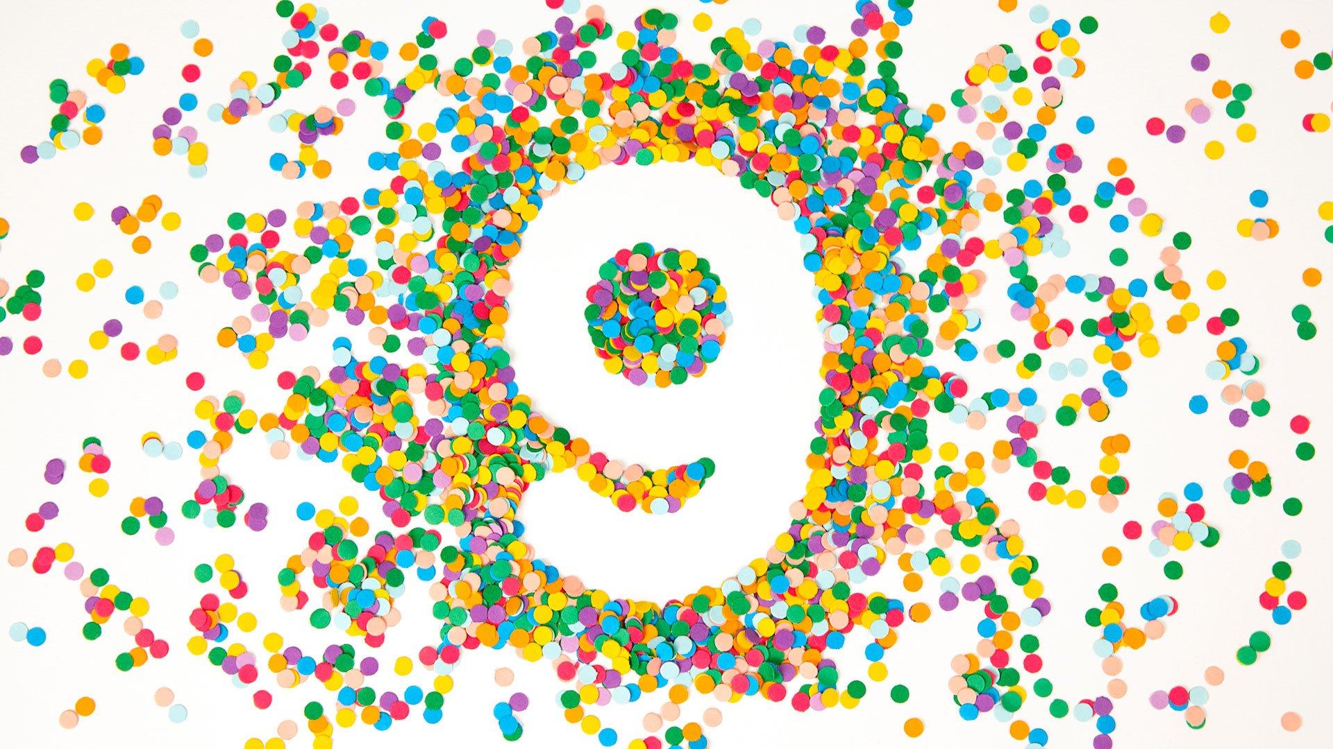 Любимой, открытка с днем рождения компании 9 лет