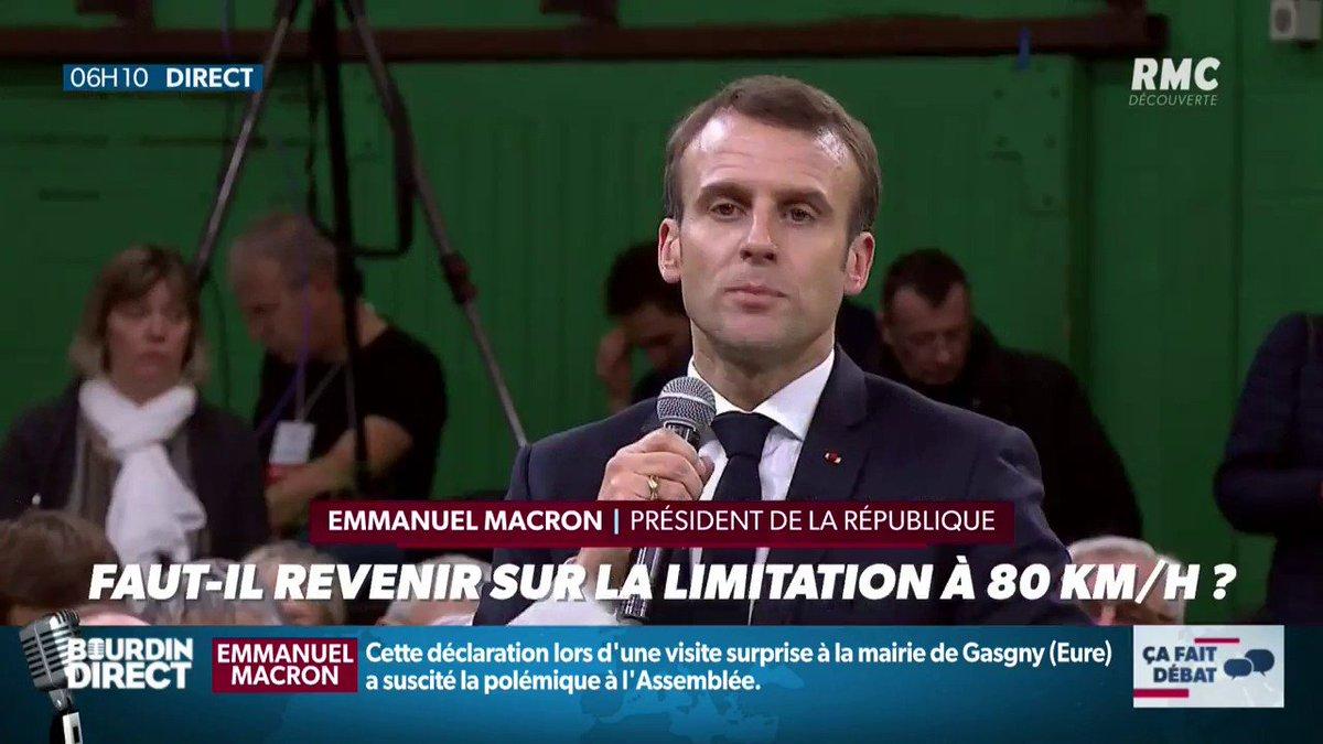 """#LES30LOIS ▶▶ """"Ça fait débat"""": """"Vos 30 propositions de lois citoyennes"""": faut-il revenir sur la limitation à 80 km/h ?   #RMC #BourdinDirect #France 📻📻 https://bit.ly/2keJLQ4"""
