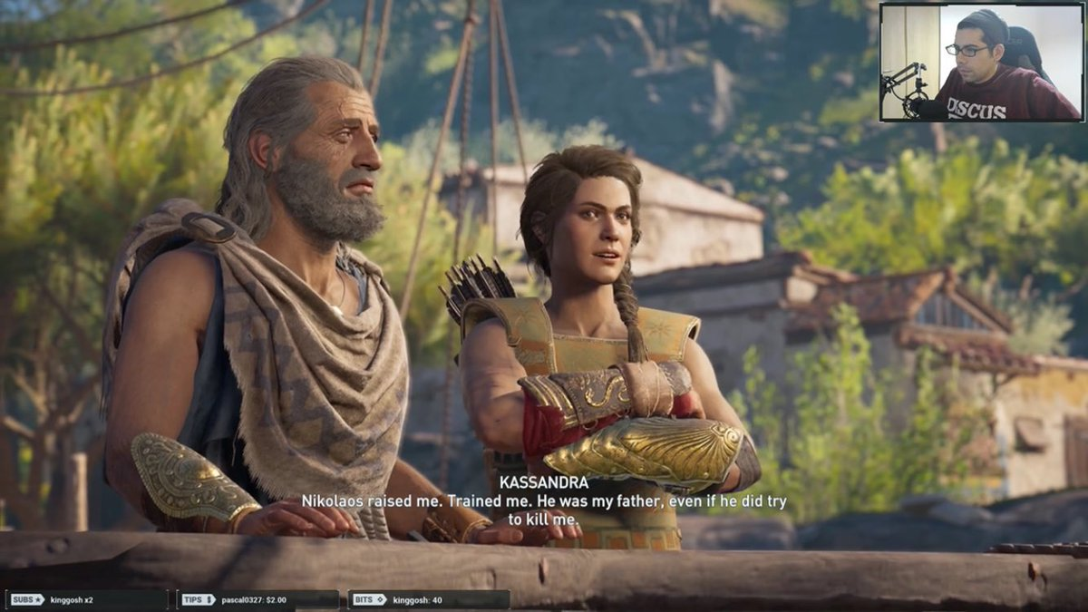 I will do streaming #assassincreedodyssey on #twitch 🌋🛳 JOIN my channel and feel free to chat me! https://www.twitch.tv/flokisgames  #live #stream #game #pc #TwitchAffiliate #join #follow #retweet #skyrim #ff #heartstone #DarkSouls #witcher #gaming #Italy #metalgearsolidv #magicthegatheri