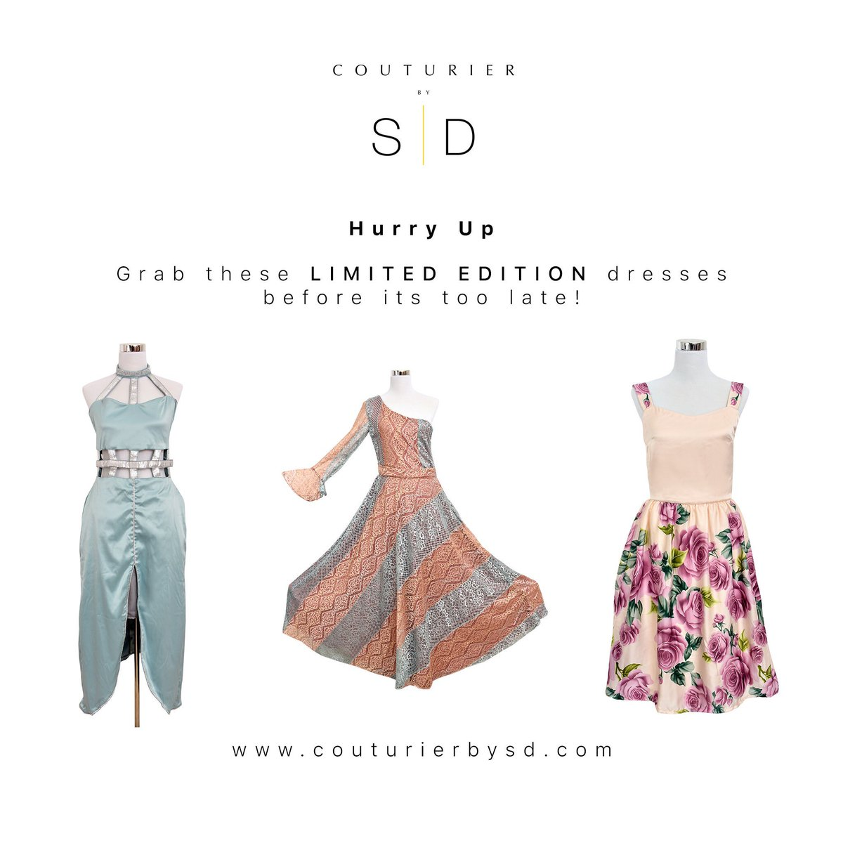 Limited #edition #dresses for your #personality   🌐➡️ https://www.couturierbysd.com  #Smize #wiwt #BOT #Fashionista #Floral #Statement #Extra #Milleniel #Xennials #FashionWeek #Fashionable #Clothing #ladiesnight #ladies #beauty #fashionnova #fashiondaily #love #wearyourpersonality